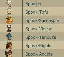 La team spook de retour.