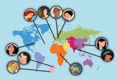 Les pays des princesses ;)