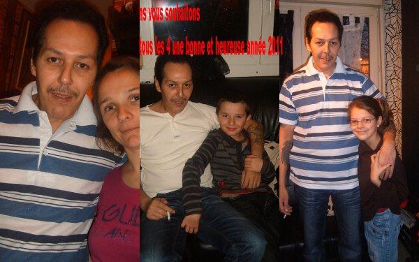 nous vous souhaitons tous les 4 une bonne et heureuse année 2011