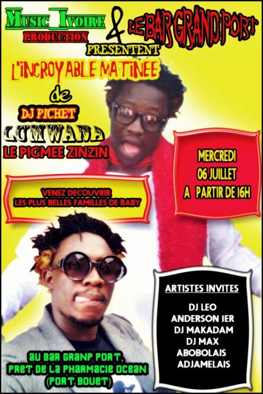 L'incroyable Matinée de DJ Pichet Lumwana Le Zinzin