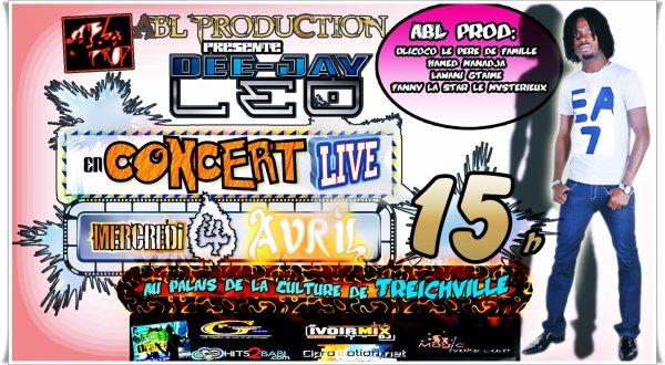 Dee-Jay Leo En Concert LIVE Le 04 Avril 2012 Au Palais De La Culture de Treichville