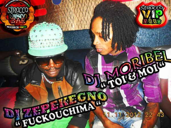 DJ ZEPEKEGNO & DJ MORIBEL A LA GRANDE MATINÉE DJASSA SECURITY AVEC La Papountcha AU SIROCCO DISCO BAR