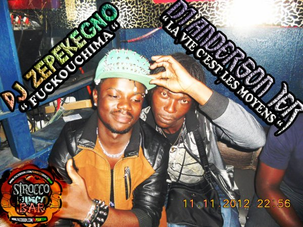 DJ ZEPEKEGNO & DJ ANDERSON PREMIER A LA GRANDE MATINÉE DJASSA SECURITY AVEC La Papountcha AU SIROCCO DISCO BAR