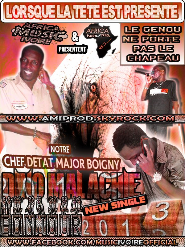 AFRICA MUSIC IVOIRE / Dino Malachie - BONJOUR 2013 (2013)