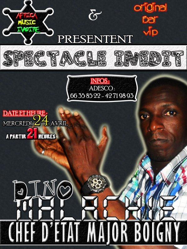 AFRICA MUSIC IVOIRE / Dino Malachie - Elements de YopCity (2013)