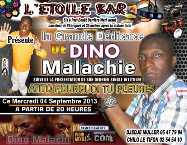LE CHEF D'ÉTAT MAJOR BOIGNY Dino Malachie, en SPECTACLE INÉDIT