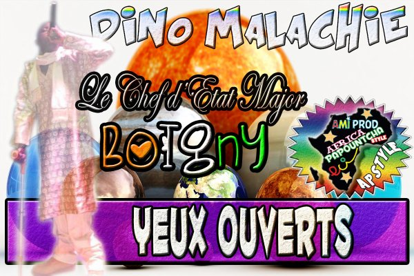 AMIPROD / DINO MALACHIE - YEUX OUVERTS (2013)