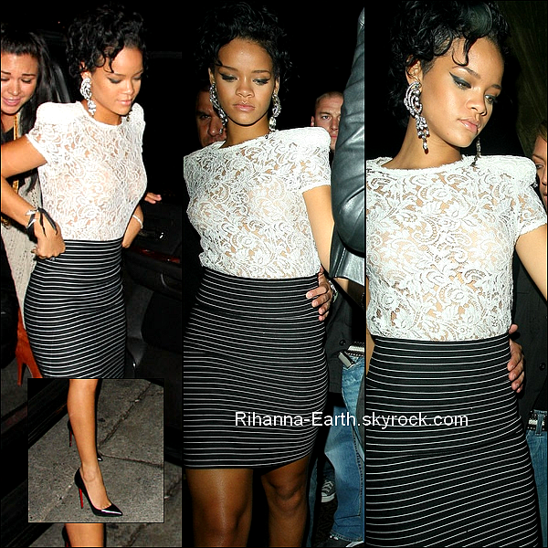"26 Mars ~ Rihanna quitte le club ""Bar Deluxe"" à Hollywood"