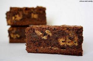 Brownies aux noisettes.