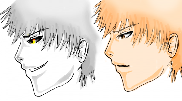 new dessins bleach by my