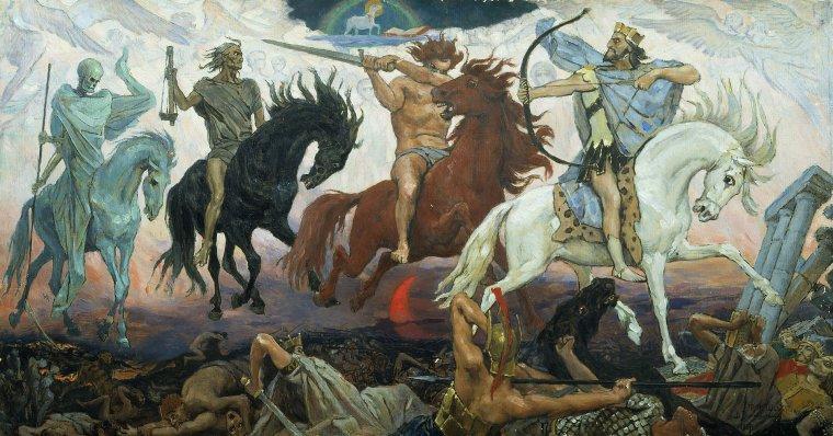 les 4 cavaliers de l'apocalypse