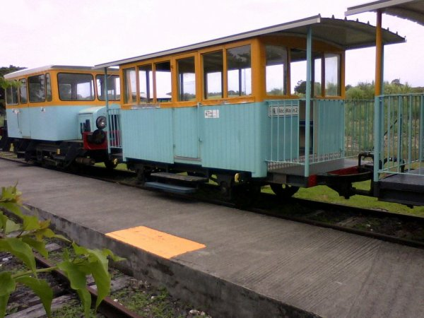 Train Beauport port louis