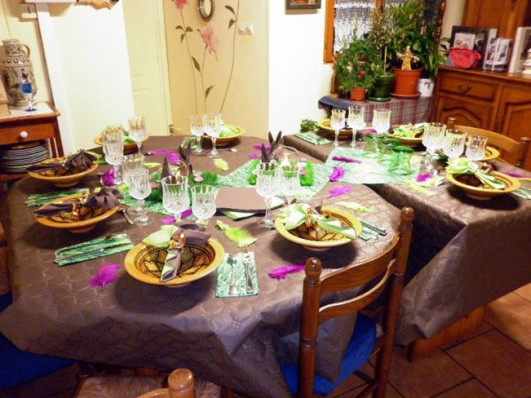 Table Anniversaire