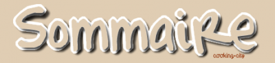 ๑ Sommaire ★