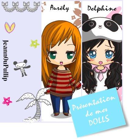 Présentation de mes Doll's