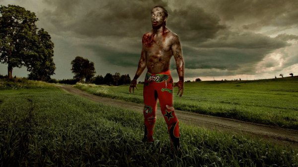 WWE Zombies:Ring of the living dead 1/4