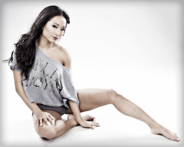Tna:Gail Kim on St.Patrick's Day