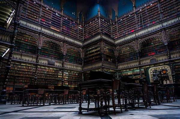 Bibliothèque à Rio de Janeiro Brésil