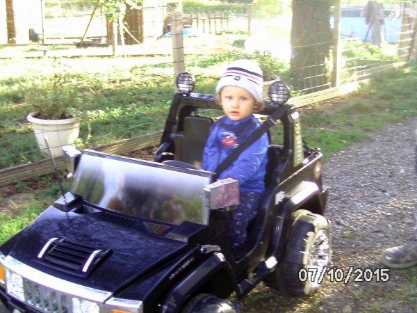 ALIX  sa première voiture