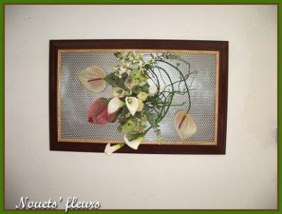 ref:0241                                    grand cadre fleuri