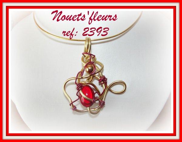 Collection de pendentifs perlés les références sont sur les photos