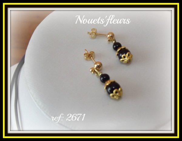 ref: 2668 bijoux onyx