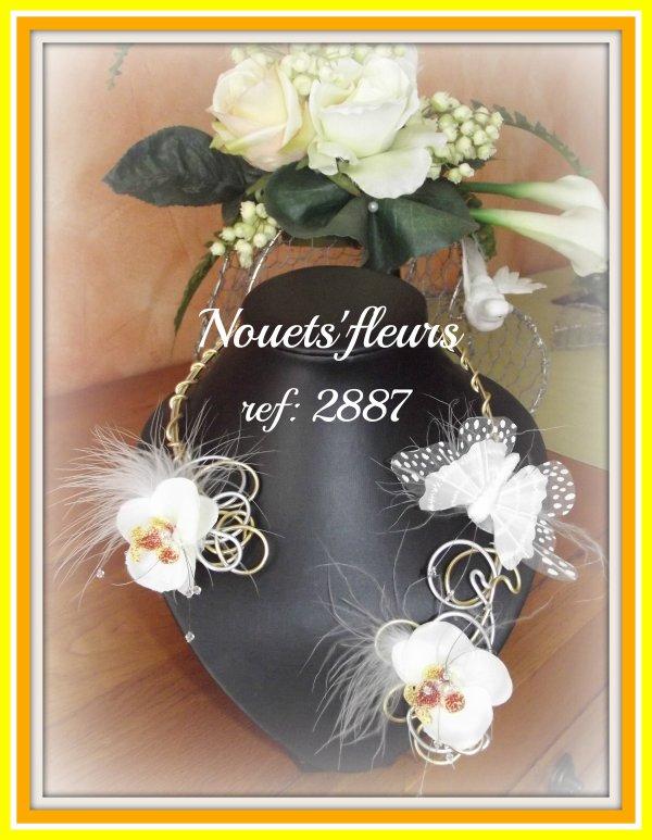 ref: 2887 Collier de mariée