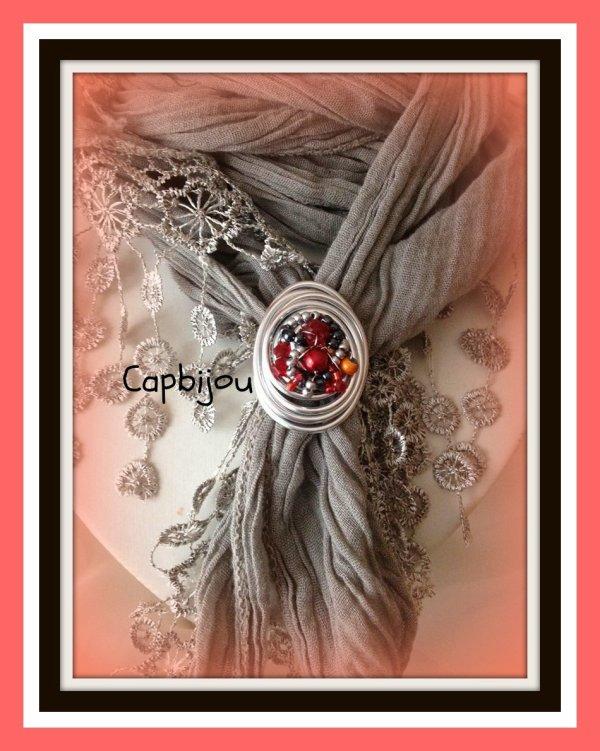 pour ses créas bijoux  Nouets'fleurs devient..... Capbijou ......ref: 2