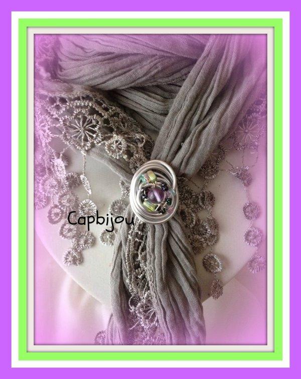 pour ses créas bijoux  Nouets'fleurs devient..... Capbijou ......