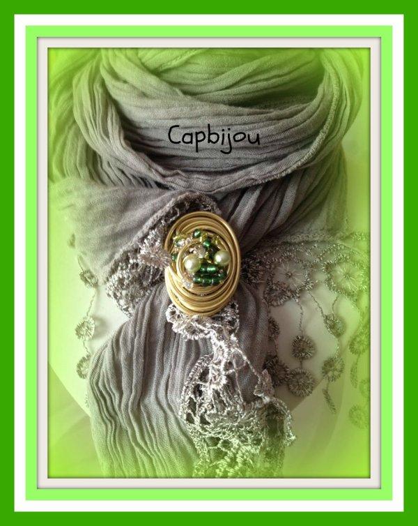 ref: 07 bague et/ou bijou de foulard