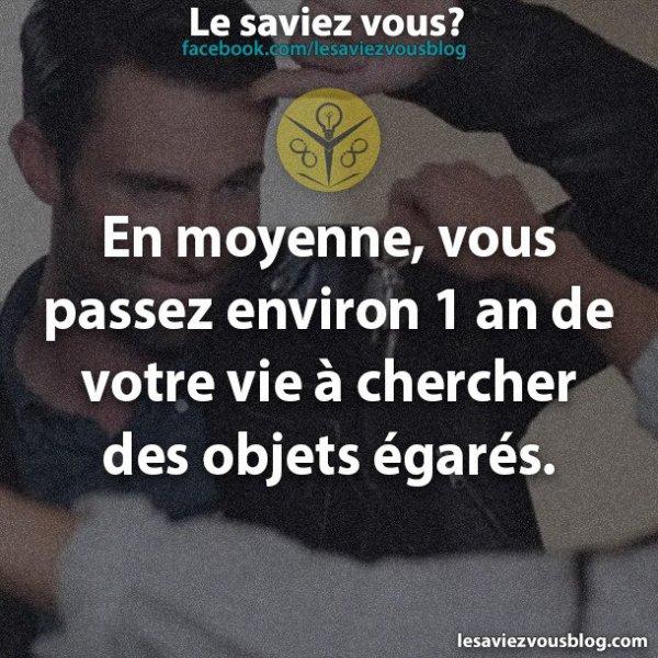 Le Saviez Vous? ^^'