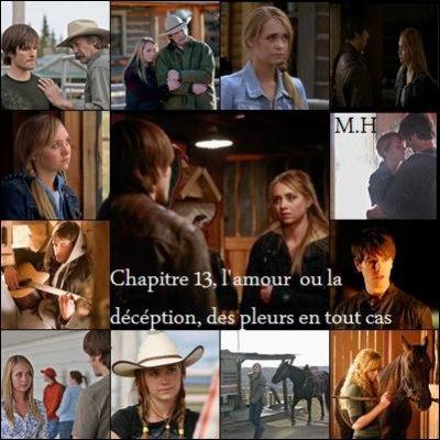 chapitre 13: L'amour ou la deception , des pleure en tout cas !!