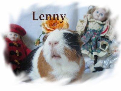 Lenny mon premier, mon gros bébé.....