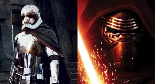 STAR WARS  Captain Phasma, Kylo Ren