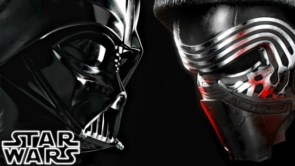 STAR WARS, Kylo Ren, Dark Vador