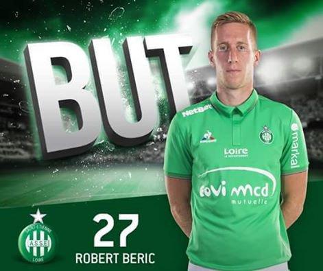 Merci Robert Beric, Nous sommes Les Verts !! On ne lâche rien !!!