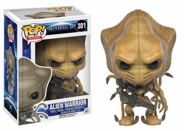Independence day alien warrior, Predator