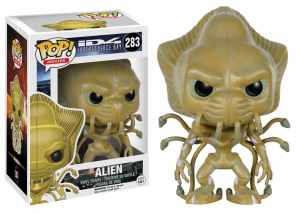 Independence day alien warrior, Predator