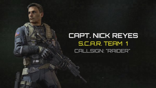 Call Of Duty Infinite Warfare Captain's Nick Reyes