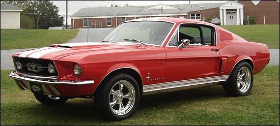 Fastback de 67a 68