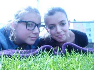 Ma blonde et moi <3