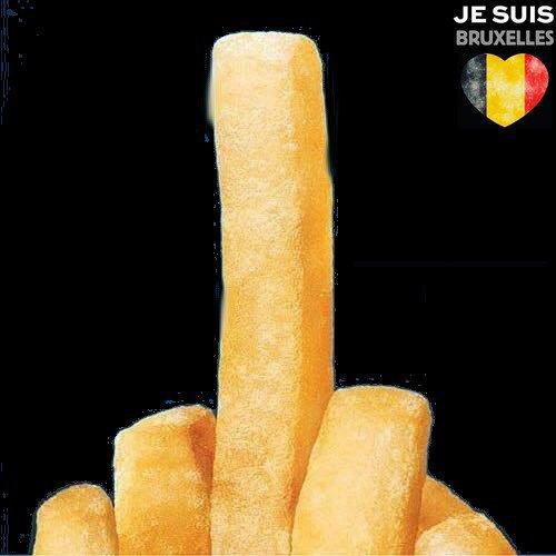Attentat-suicide en Belgique :(