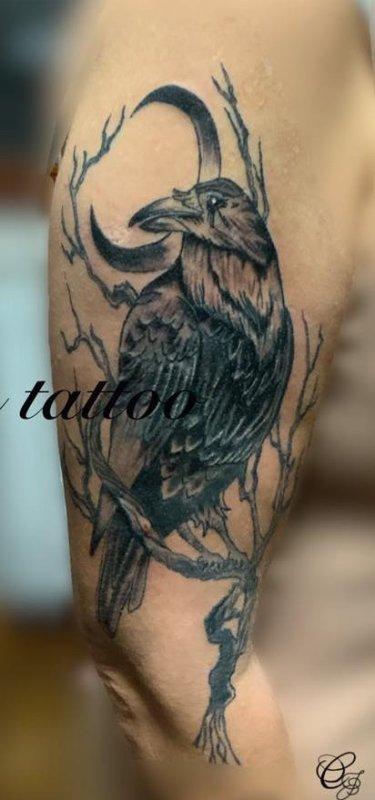 Mon tattoo terminé
