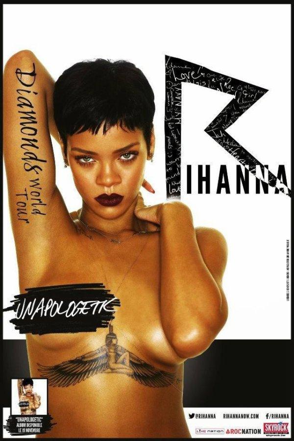 Rihanna en concert avec Skyrock