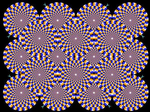 Essaye de regarder pendant 1 minute et avance toi lentement prés de ton écran.