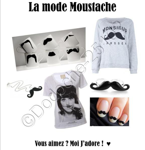 Moustache So Swag :3