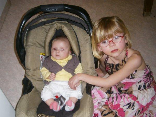 mes 2 petit amour de niece