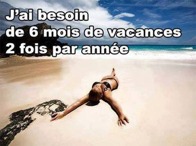 vacances !!