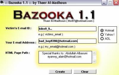piratage msn bazooka