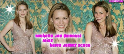 Haley James Scott Alias Bethany Joy Galeotti